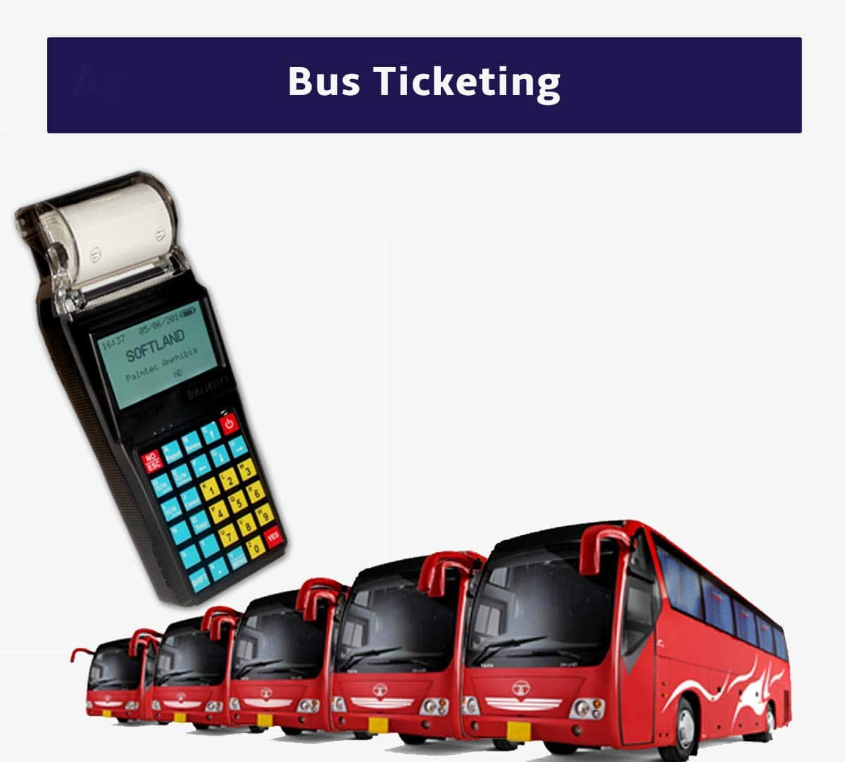 Handheld Bus Ticketing Machine