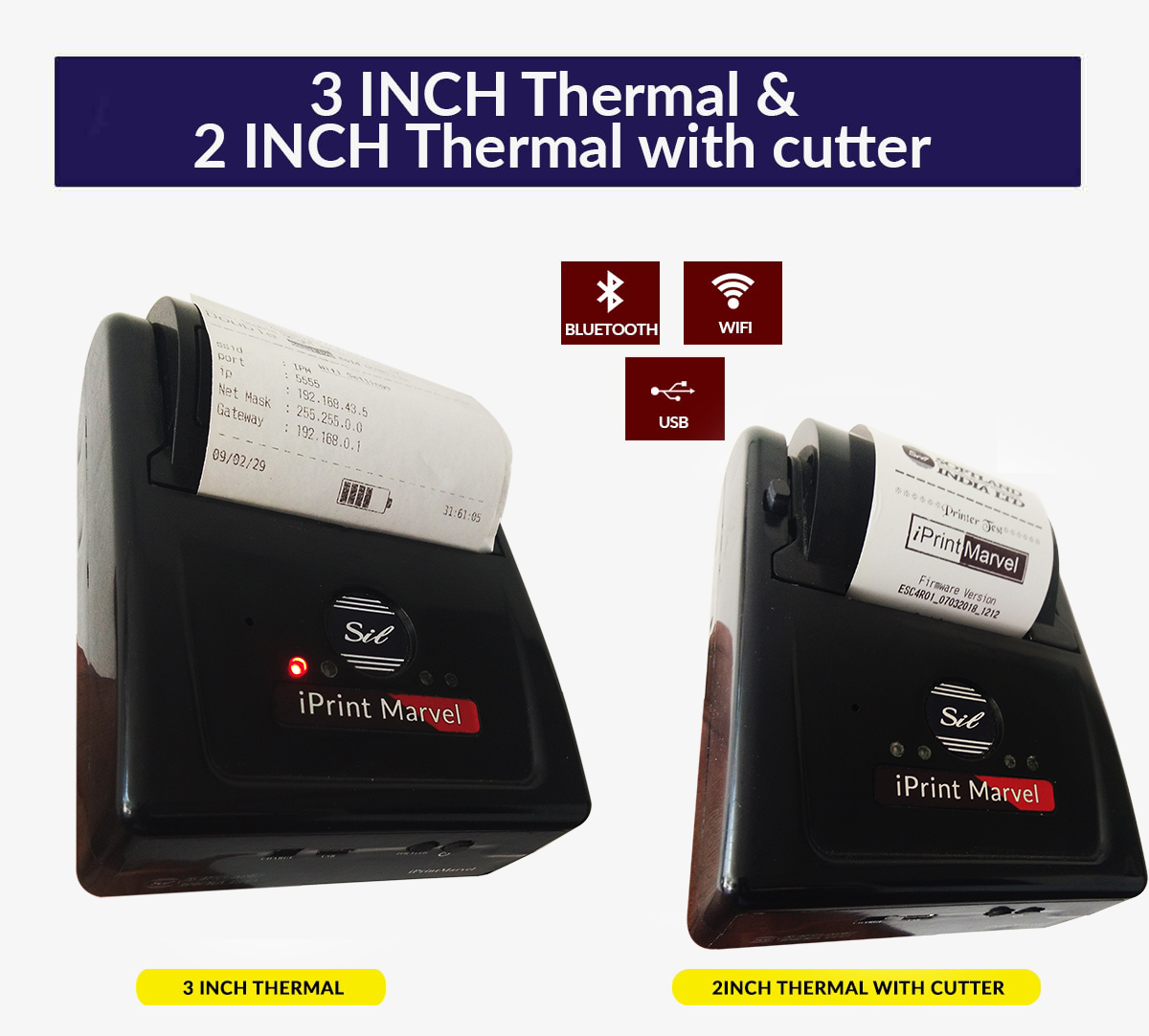 3 INCH Thermal & 2INCH Thermal With Cutter